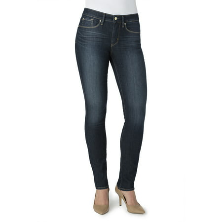 Signature by Levi Strauss & Co. Women's Totally Shaping Skinny (Kick Skinny Jean)