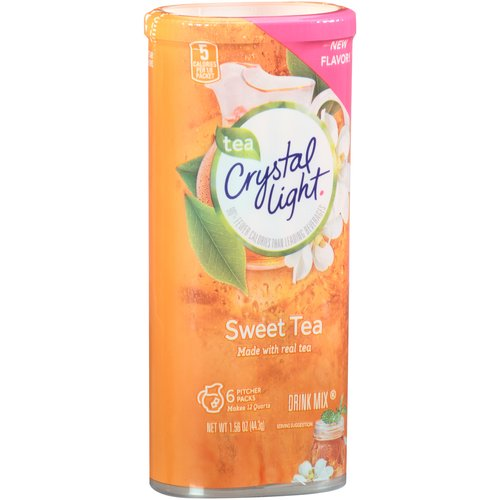 Crystal Light Sweet Tea Drink Mix, 1.56 oz