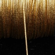 Metallic Gold Braided Cord 1mm x 436 Yards