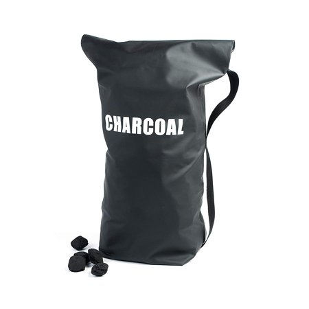 Image of Charcoal Storage Bag - CC4508, Heavy duty waterproof vinyl with Velcro closure keeps charcoal dry and ready to light By Charcoal Companion