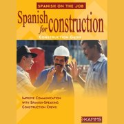 Spanish for Construction - Audiobook