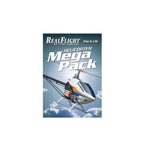 Great Planes RealFlight 6 - Heli Mega Pack Multi-Colored