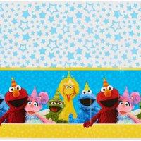 "Sesame Street Plastic Table Cover, 54"" x 96"""