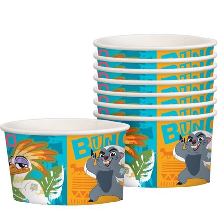 The Lion Guard Ice Cream Cups (8ct)](Disposable Ice Cream Cups)