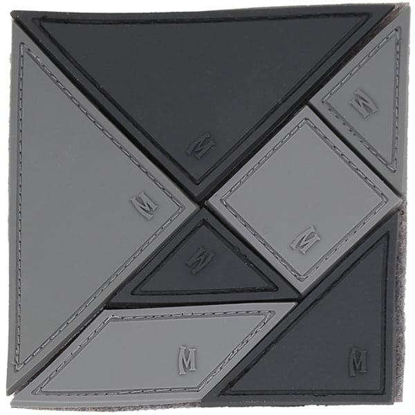 Tangram 7-Piece Patch, Swat, 3x3