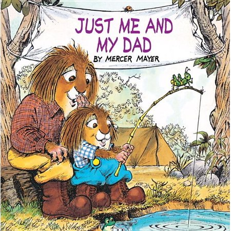 Golden Look-Look Books: Just Me and My Dad (Hardcover)