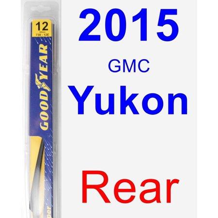 Gmc Yukon Wiper Motor - 2015 GMC Yukon Rear Wiper Blade - Rear