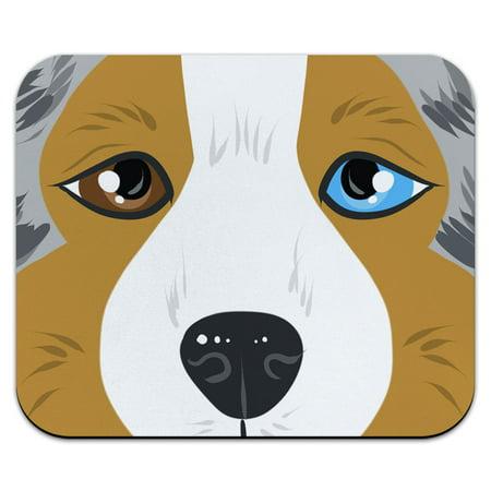 Australian Shepherd - Aussie Blue Merle Dog Pet Mouse Pad
