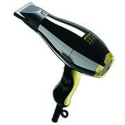 Elchim 3900 Healthy Ionic Hair Dryer, Black and Gold