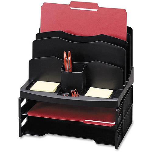 Sparco Smart Sorter Organizer with Letter Tray