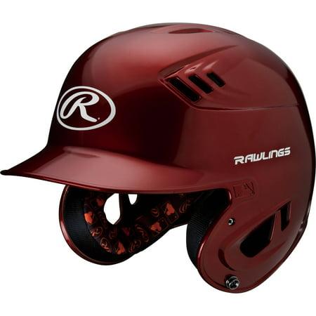 - Rawlings Junior R16 Series Metallic Helmet, Cardinal Red