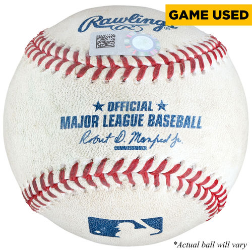 Seattle Mariners Game-Used Baseball by Fanatics Authentic