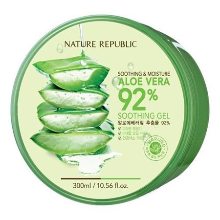 3 Pack  Nature Republic Aloe Vera 92  Soothing Gel