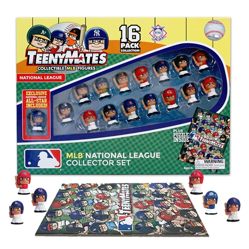 Party Animal MLB TeenyMates 16-Piece National Leag by Party Animal Toys