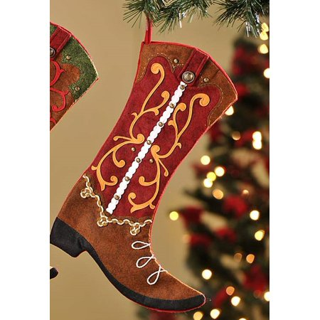 this button opens a dialog that displays additional images for this product with the option to zoom in or out - Country Christmas Stockings