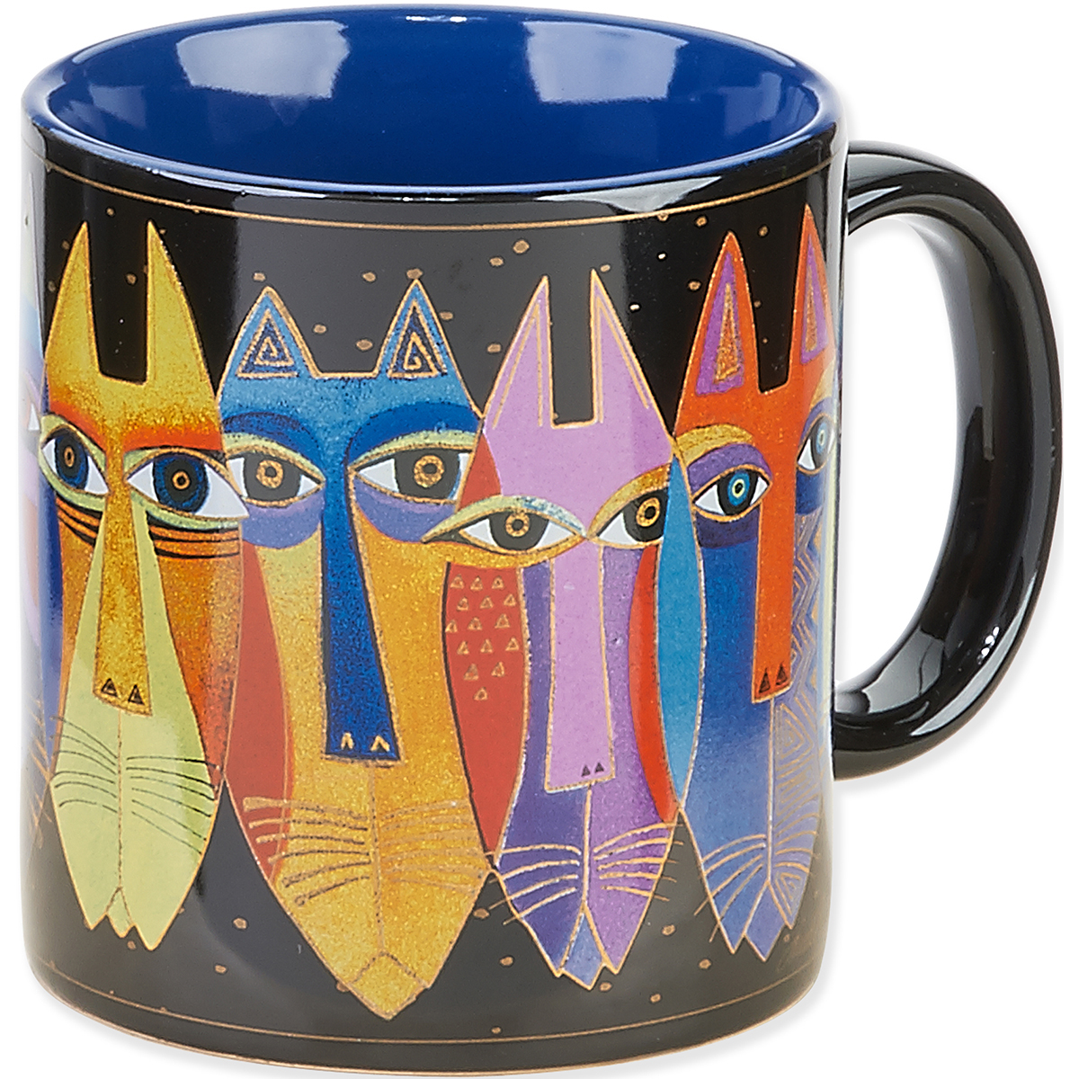 Laurel Burch Artistic Mug Collection-Tribal Cats