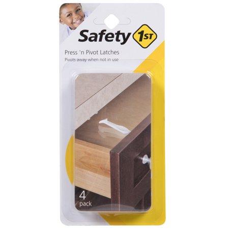 - Safety 1st Easy To Grip Press 'n Pivot Latch, White