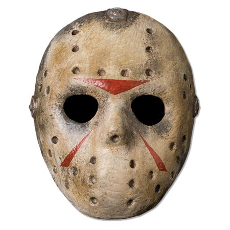 Friday The 13th Jason Deluxe Adult Mask - Pumpkin Mask Printable Halloween