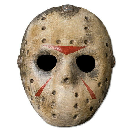 Friday The 13th Jason Deluxe Adult - Deluxe Jason Voorhees Mask
