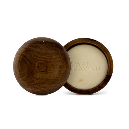 The Art Of Shaving   Shaving Soap W  Bowl   Sandalwood Essential Oil  For All Skin Types    95G 3 4Oz