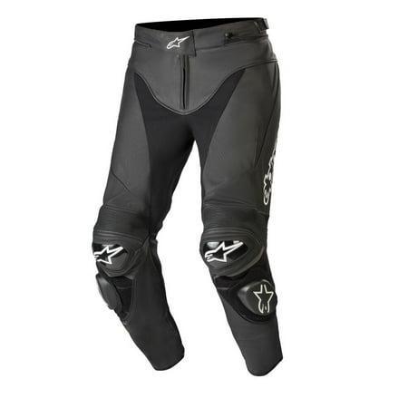 Alpinestars 2019 Track v2 Leather Pants - Black - 44 Alpinestars Track Pants