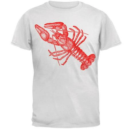 Kramers Lobster Shirt (Lobster Crustacean Copperplate Mens Soft T)