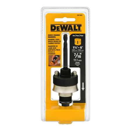 DeWalt Quick Change Mandrel, 1.0 (Dewalt Quick Change)