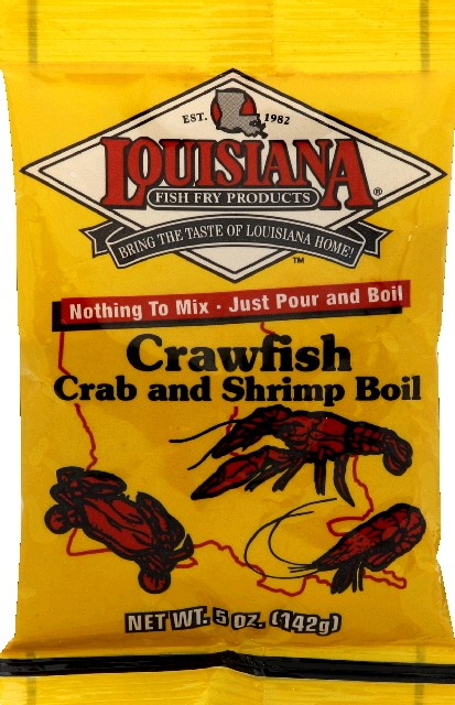 Louisiana Crab and Shrimp Boil Mix, Crawfish, 5 Oz by Louisiana