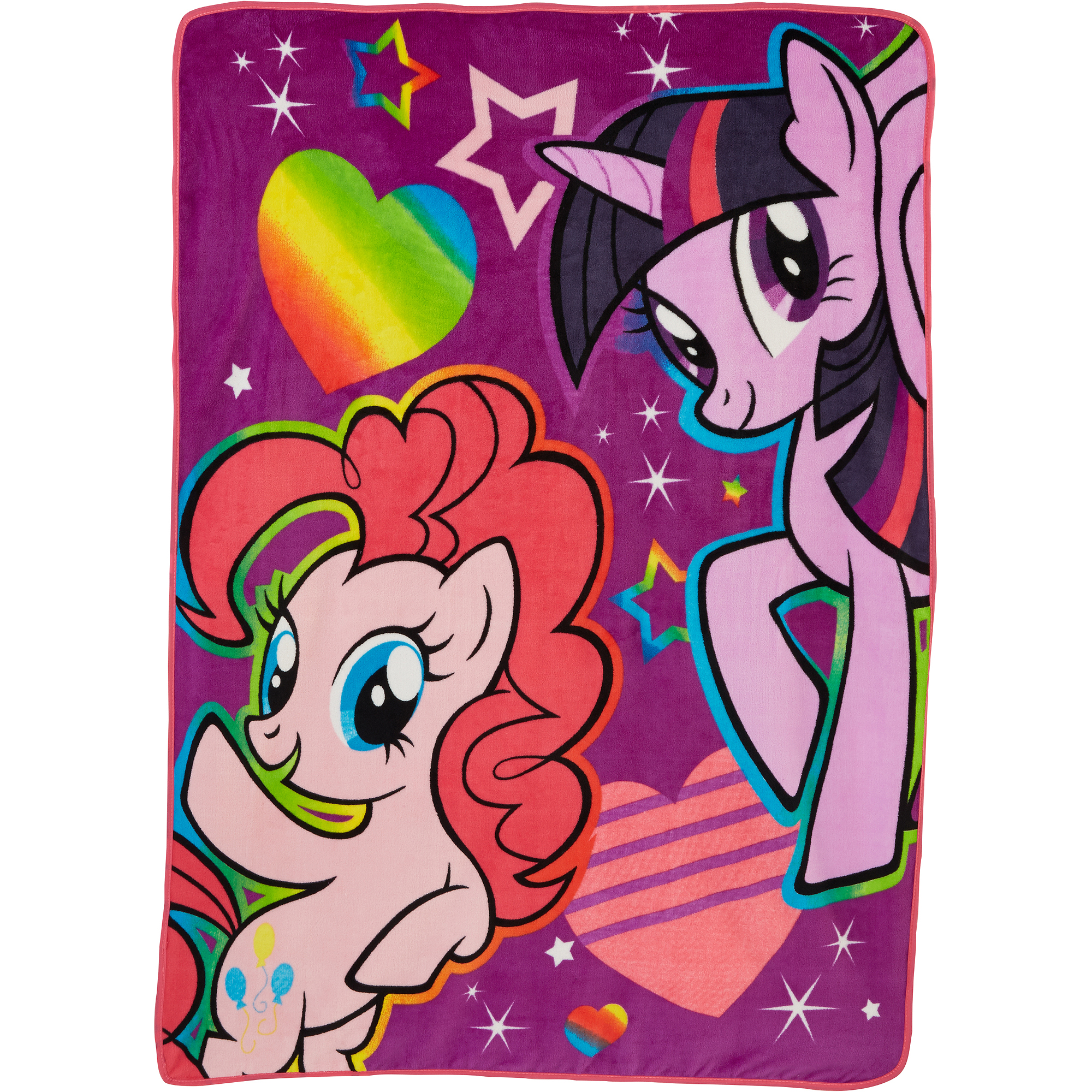 "My Little Pony Follow the Rainbow 46"" x 60"" Micro Raschel Throw"