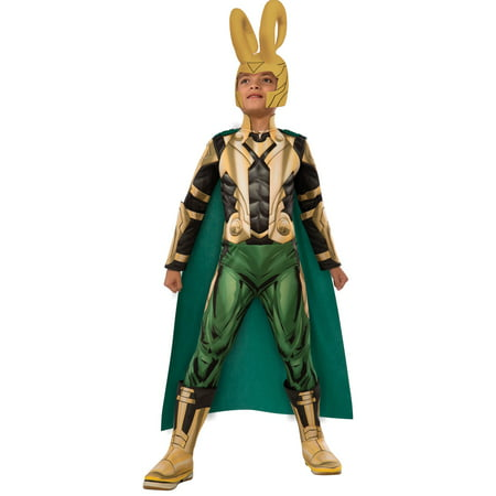 Marvel Deluxe Loki Costume for Kids - Loki Costume For Sale