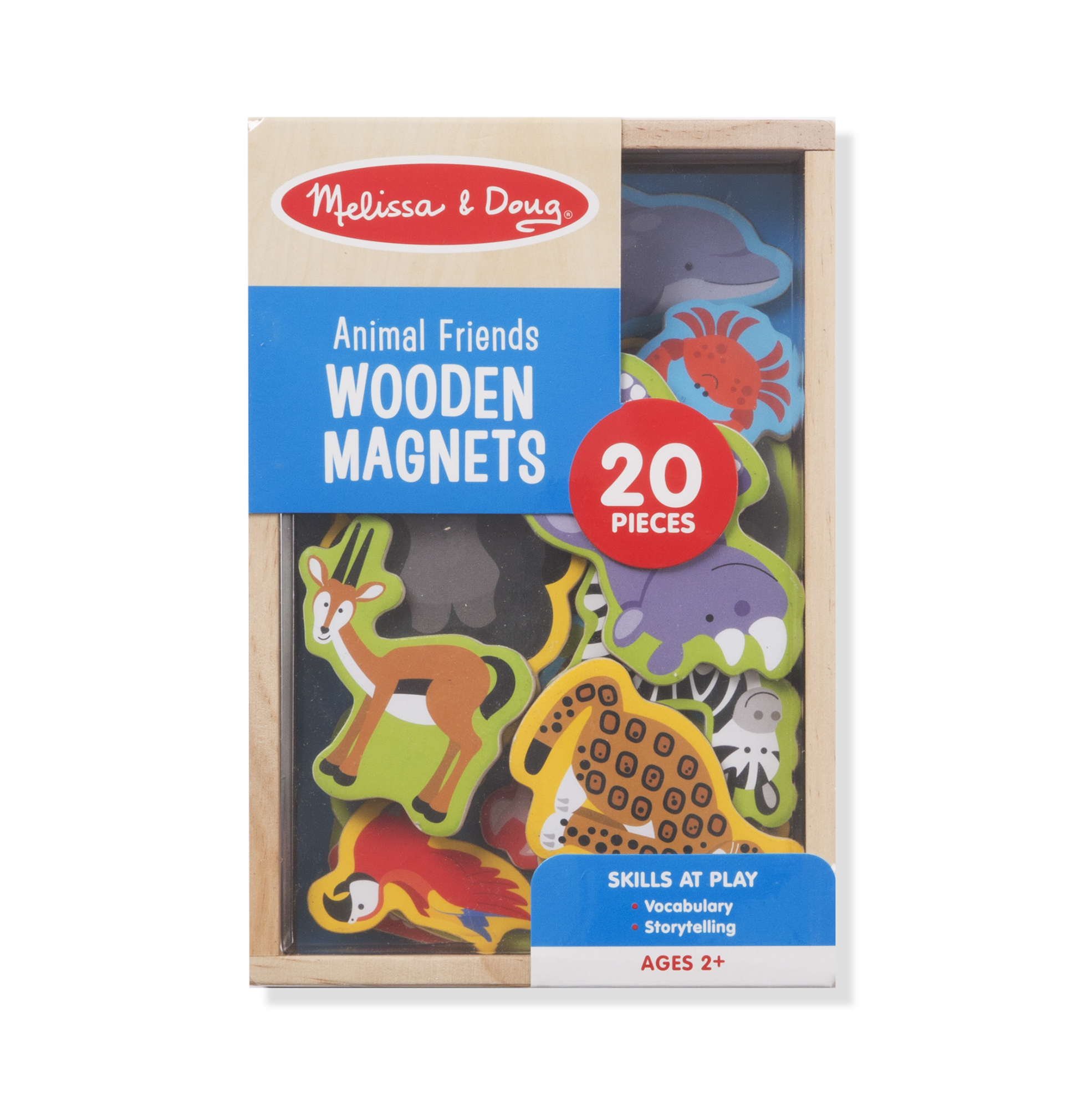 Melissa & Doug Wooden Magnets – Animals