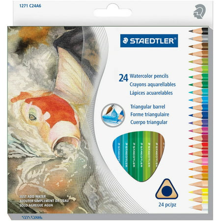 Color Changing Pencils (Staedtler Watercolor Pencils Set, Set of 24,)