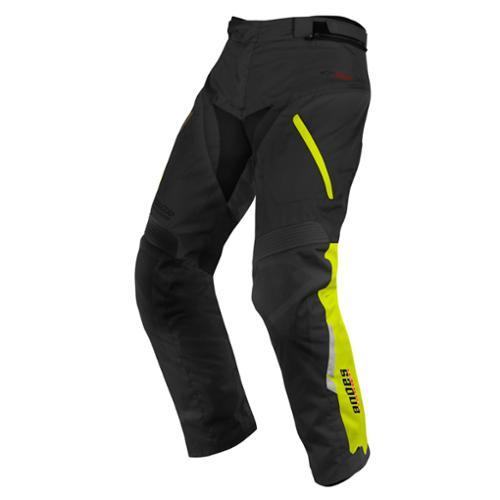 Alpine stars Andes Drystar Pants Black/Yellow Fluo SM