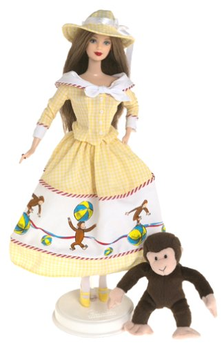 2000 Collectibles and Curious George, Barbie and Curious George Second in the Keepsake Treasures Collection By... by