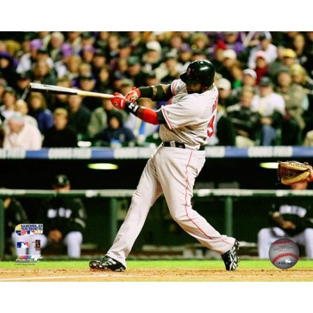 Photograph 2007 World Series (David Ortiz Game Three of the 2007 Major League Baseball World Series Photo)