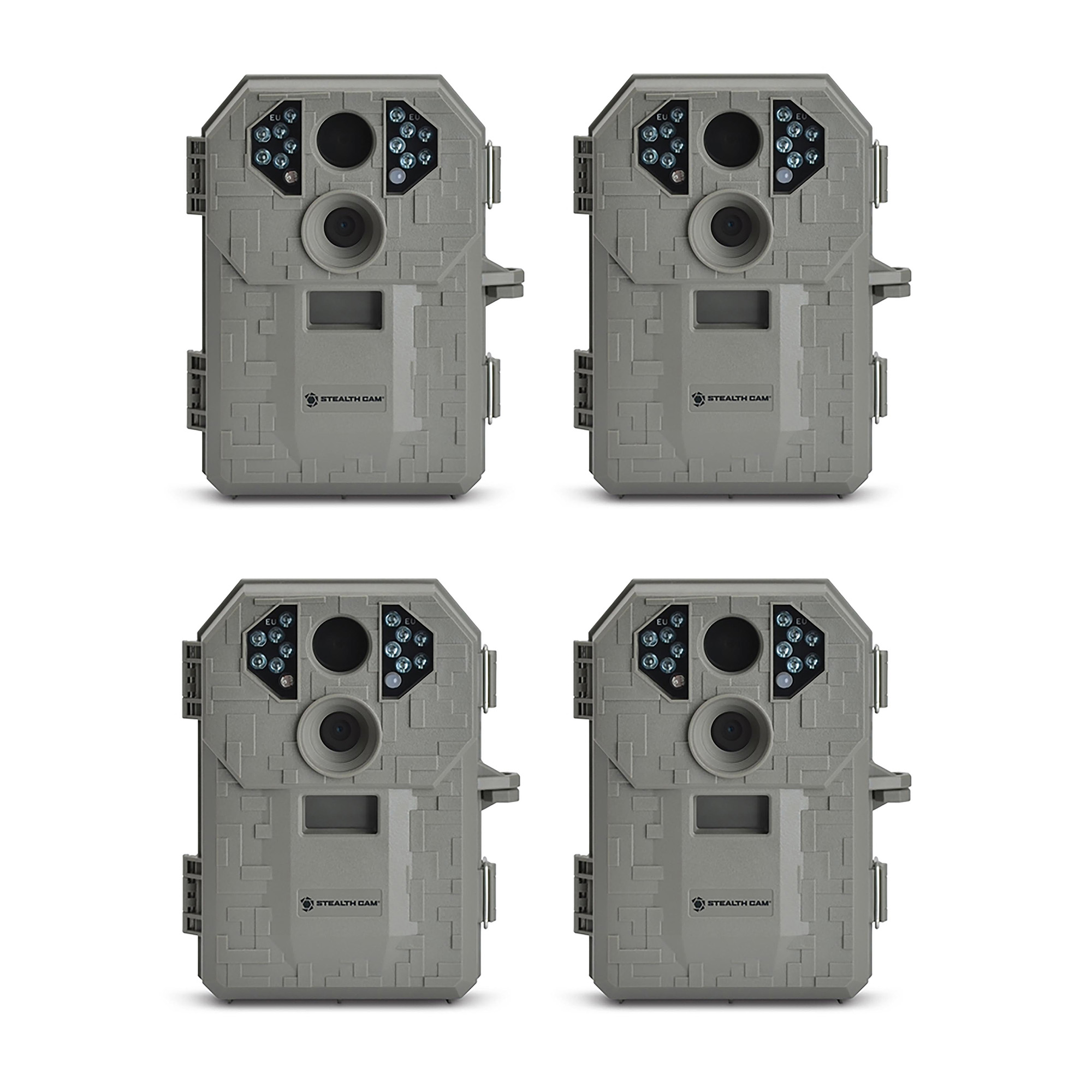 Click here to buy Stealth Cam P12 IR 6.0 MP Scouting Trail Hunting Game Camera with Video (4 Pack) by Stealth Cam.