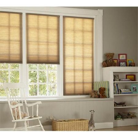 DEZ Furnishing QCLN224720 Cordless Cellular Light Filtering Shade, Linen - 22. 5 W x 72 L inch SKU: ASTG3366