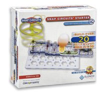 Elenco Snap Circuits Starter Electronics Exploration Kit - Snap Together Electronics STEM/ STEAM Learning Toy