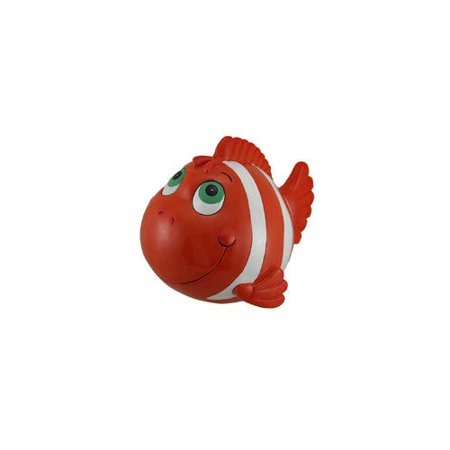 Kmp Gifts Whimsy Clown Fish Jumbo Coin Bank