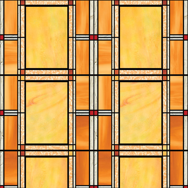 DC Fix Arts and Crafts Stained Glass Window Film Set of 2