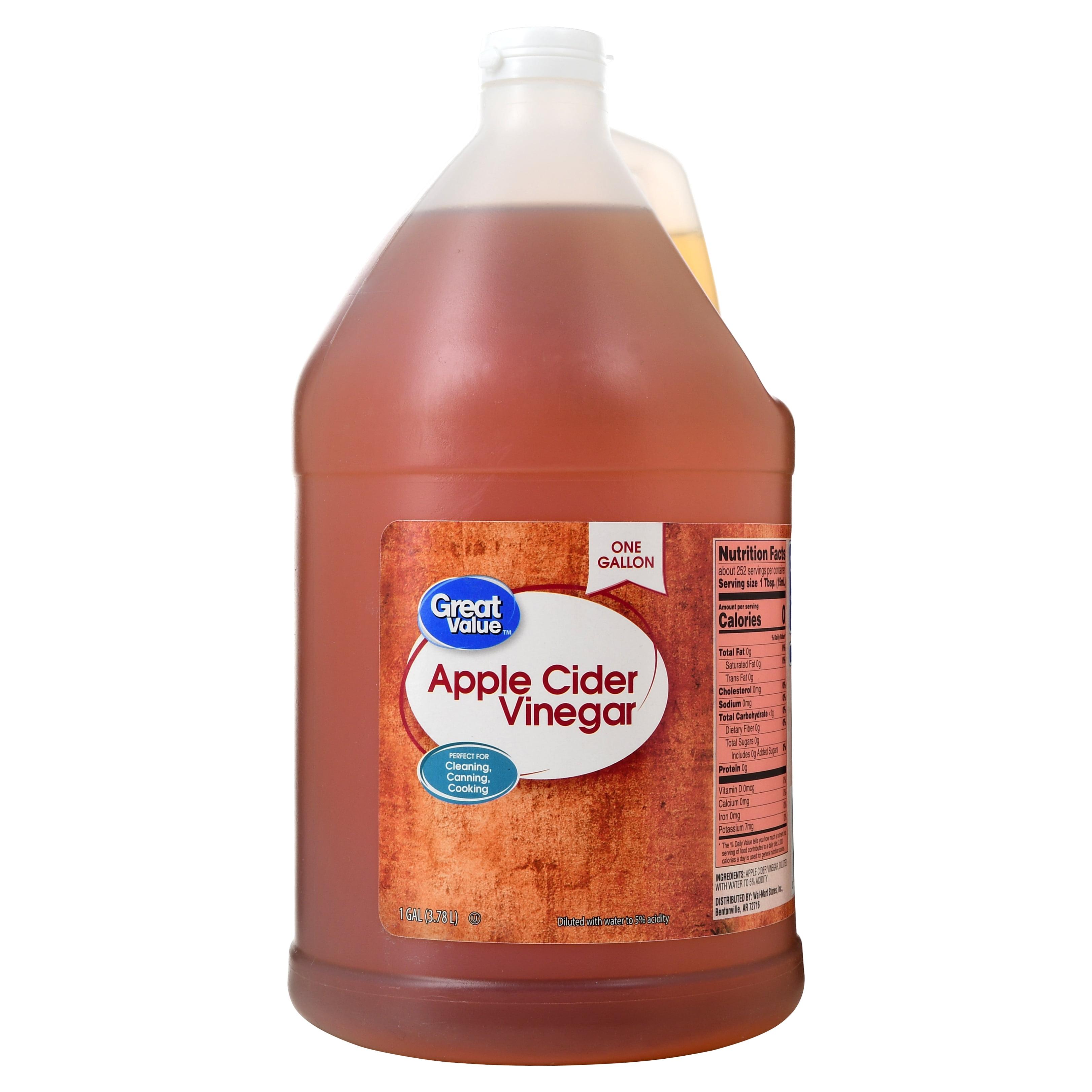 Great Value Apple Cider Vinegar, 128 oz - Walmart.com