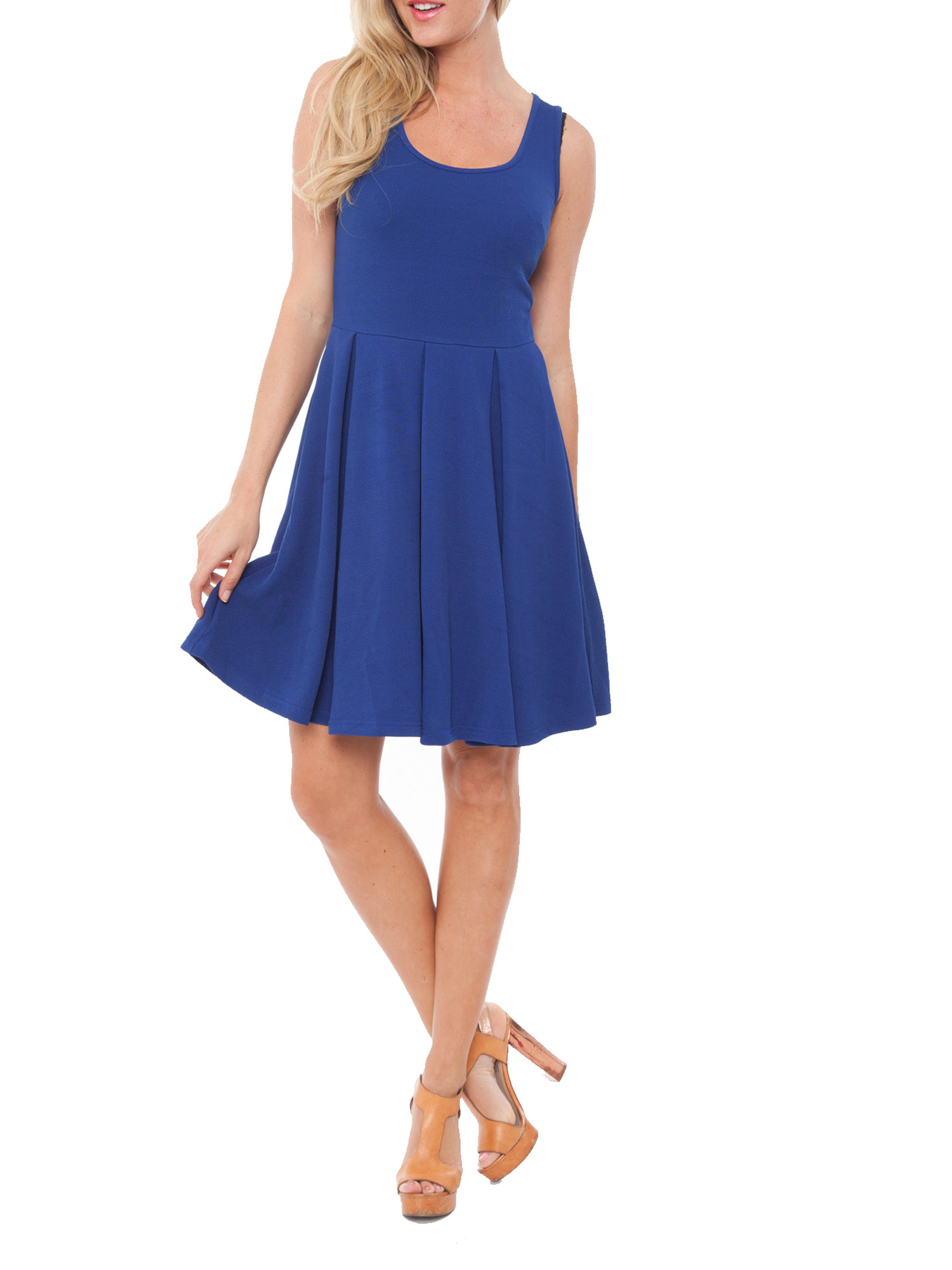 Women's Fit and Flare Mini Dress
