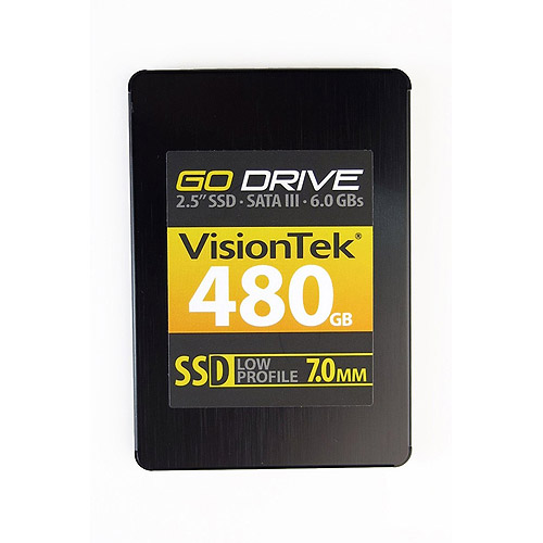 "Visiontek GoDrive 480GB 2.5"" Internal Solid State Drive"