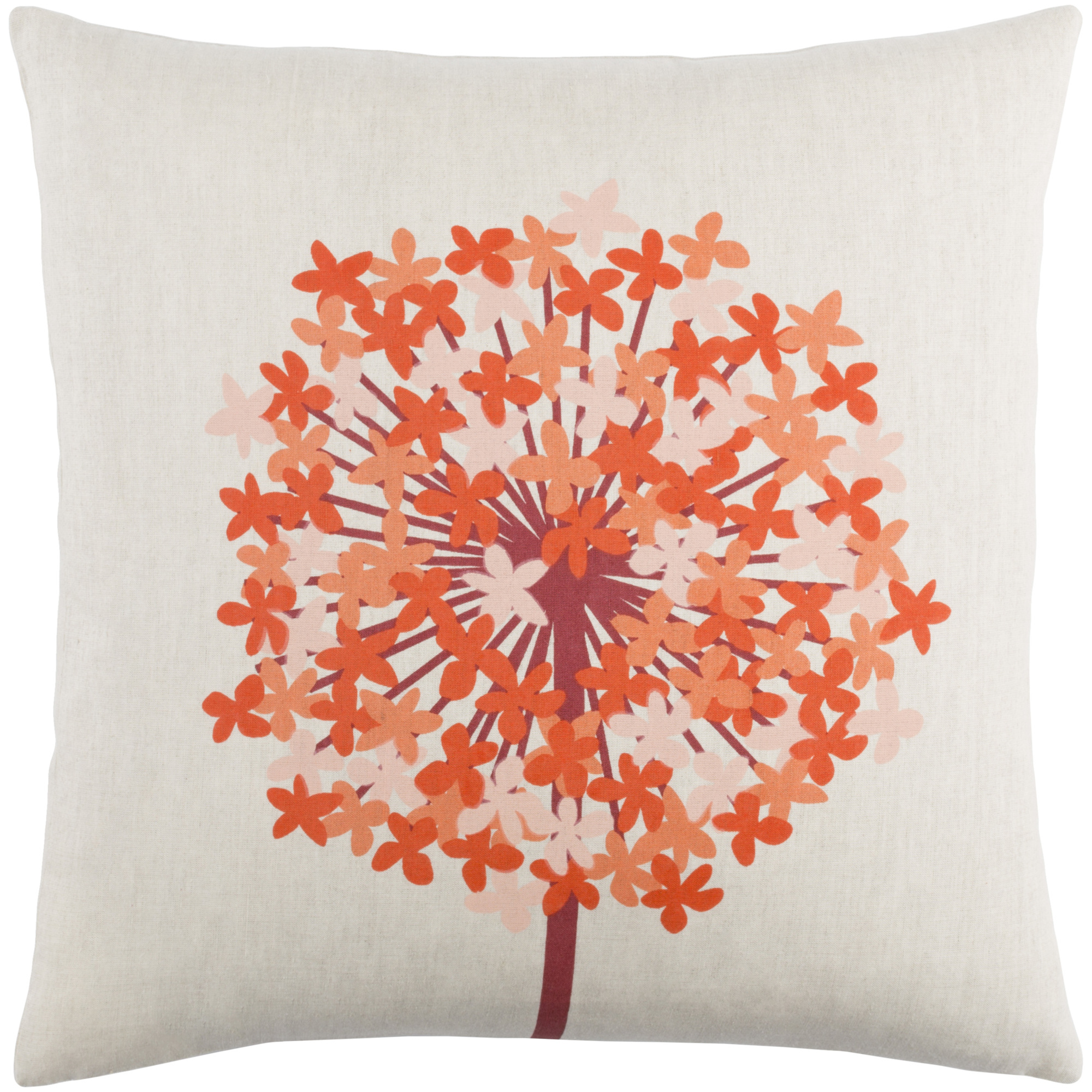 """Art of Knot Unwin 20"""" x 20"""" Pillow (with Down Fill)"""