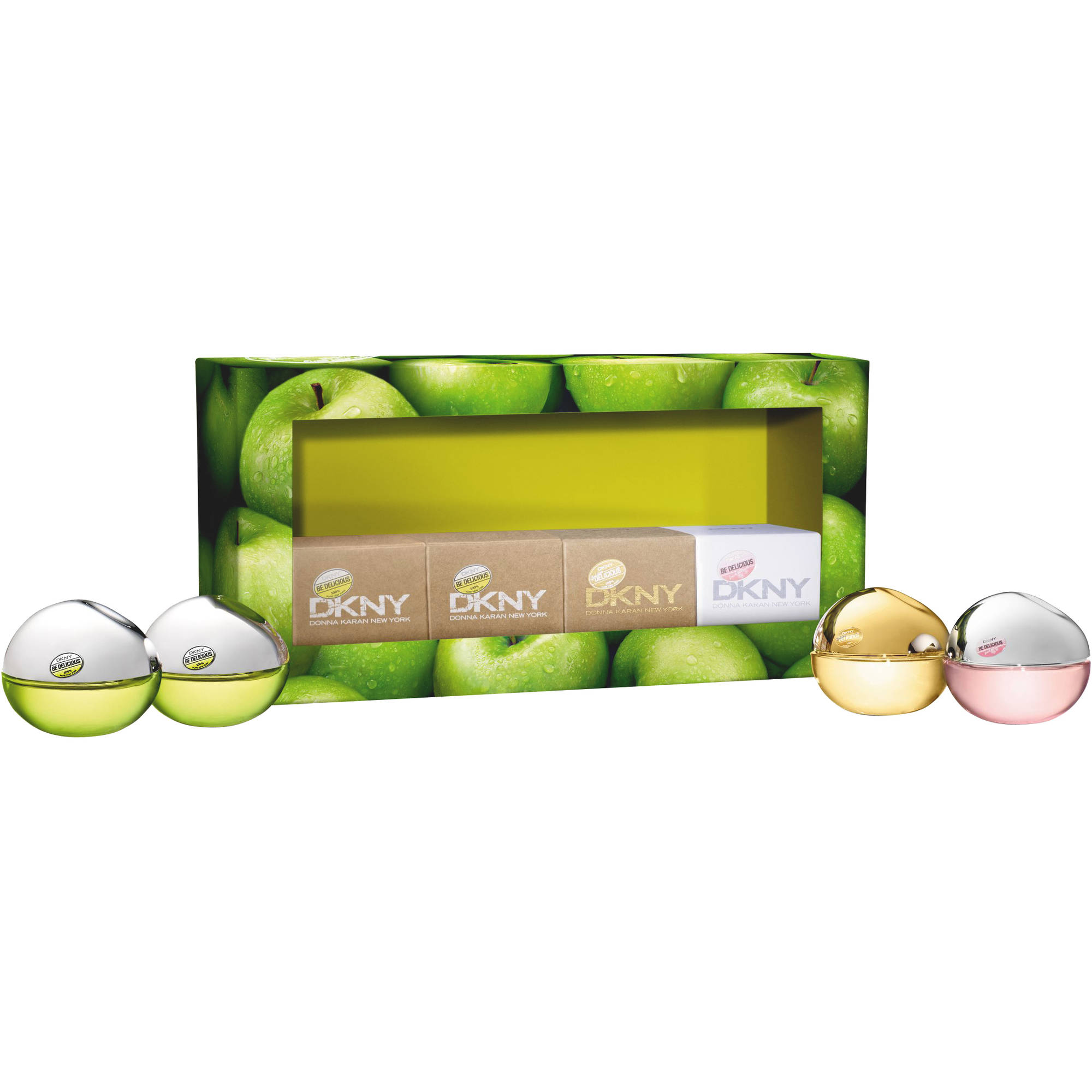 Dkny Fragrance Collection Perfume for Women Gift Set, 4 Pc