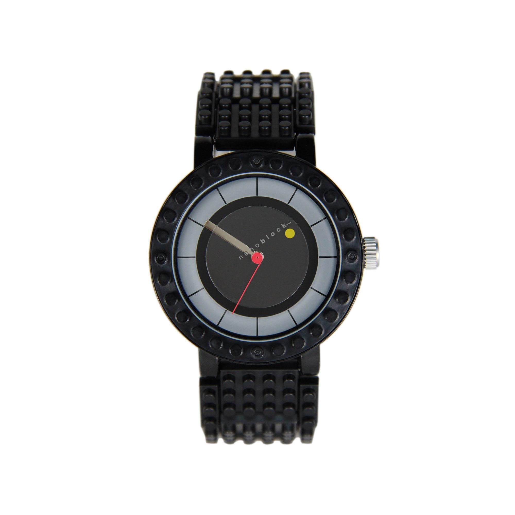 Nanoblocktime All Rounder Watch, Black by Nanoblocktime