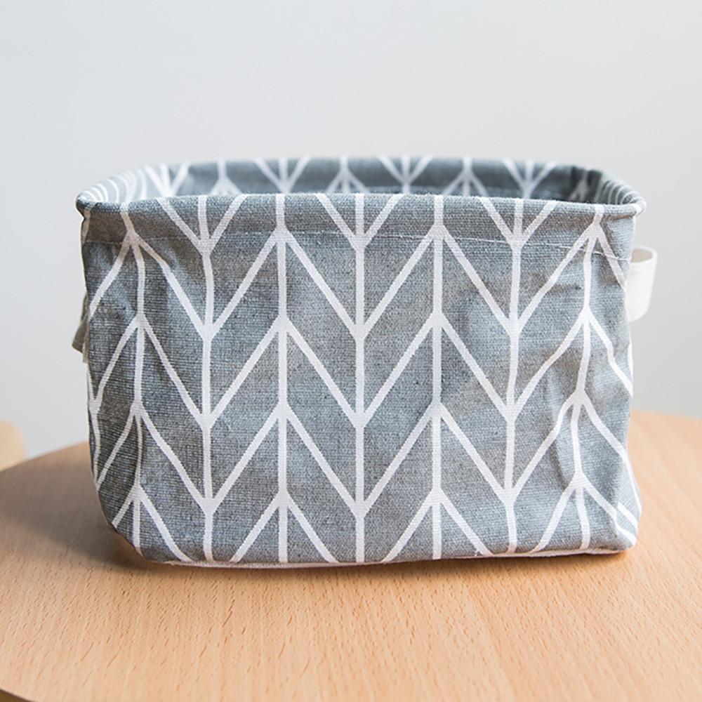 Mosunx Foldable Colors Storage Bin Closet Toy Box Container Organizer Fabric Basket