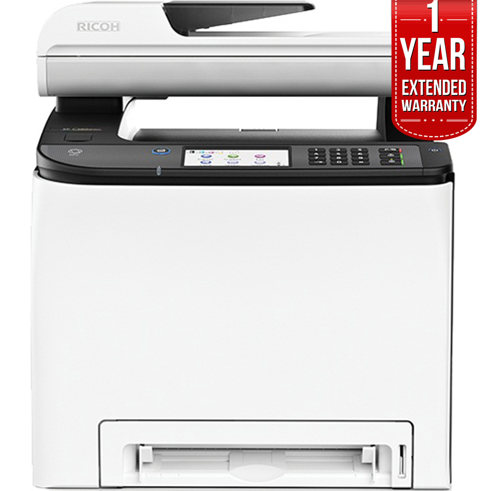Ricoh MFP 21CPM PPM Multifunction Laser Printer + 1 Year extended warranty