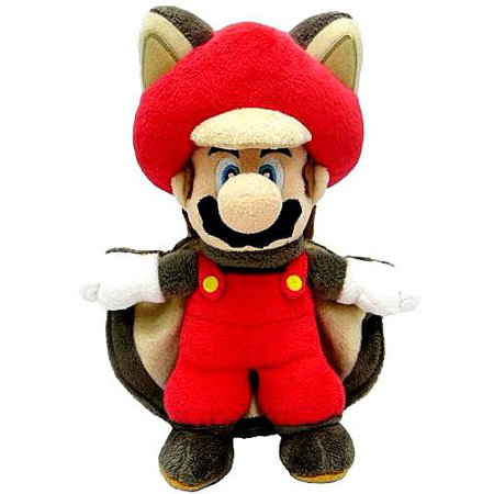 Super Mario Mario Plush [Flying Squirrel]