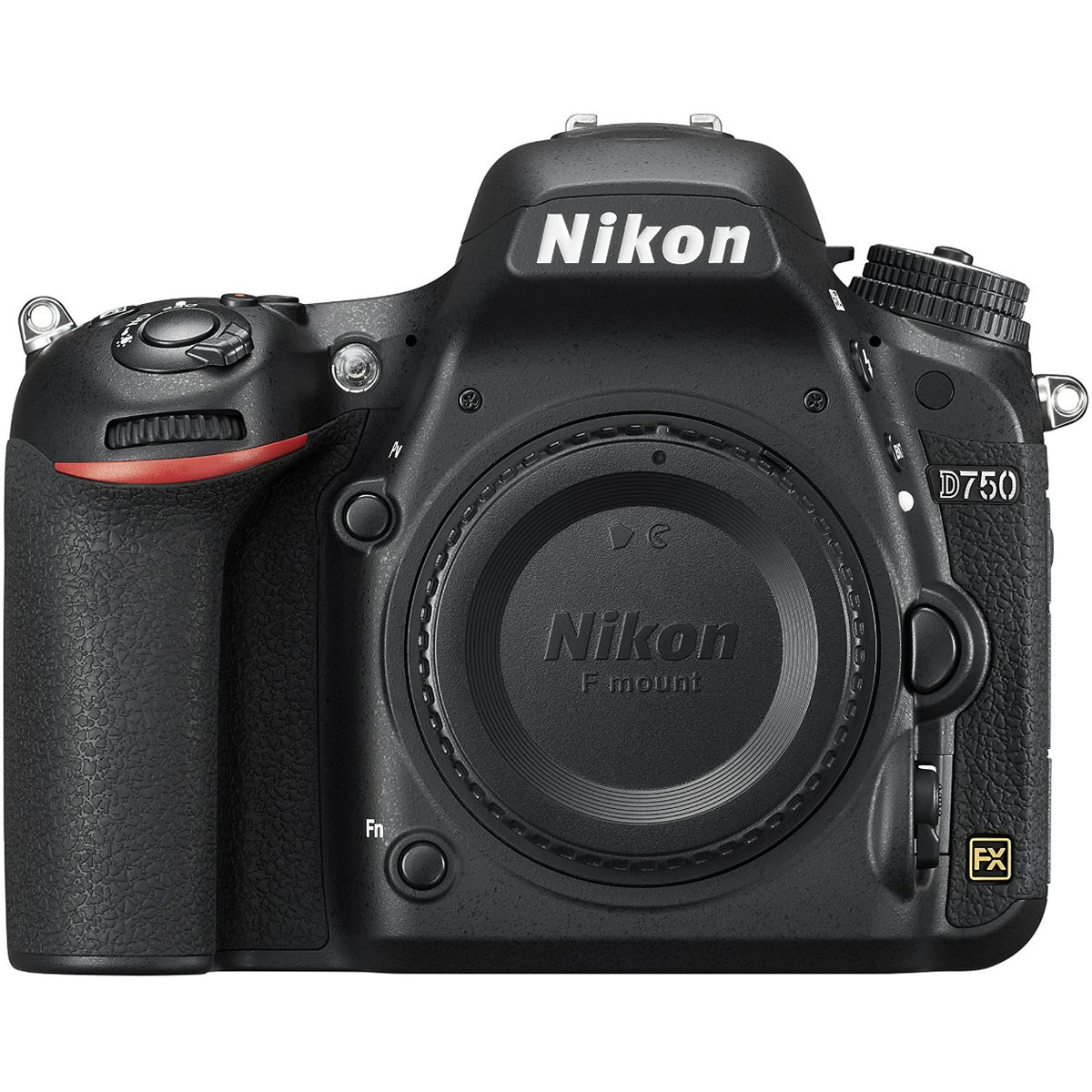 Nikon D750 24.3MP HD 1080p FX-Format Digital SLR Camera (Body)(Certified Refurbished) by Nikon
